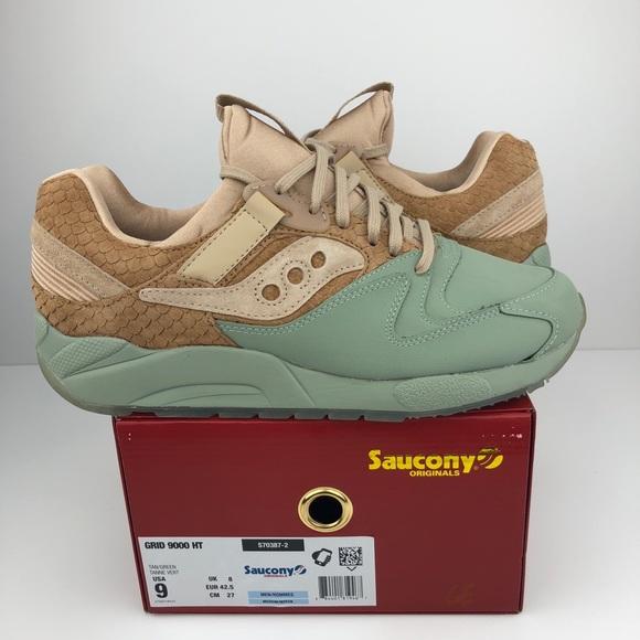 6b4fa357 Saucony grid 9000 ht size 9 men's tan green. M_5b9ea88245c8b303fb4bc126.  Other Shoes ...
